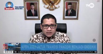 Transisi Pandemi ke Endemi, APBN 2022 Disiapkan Untuk Merespon Kondisi Dinamis