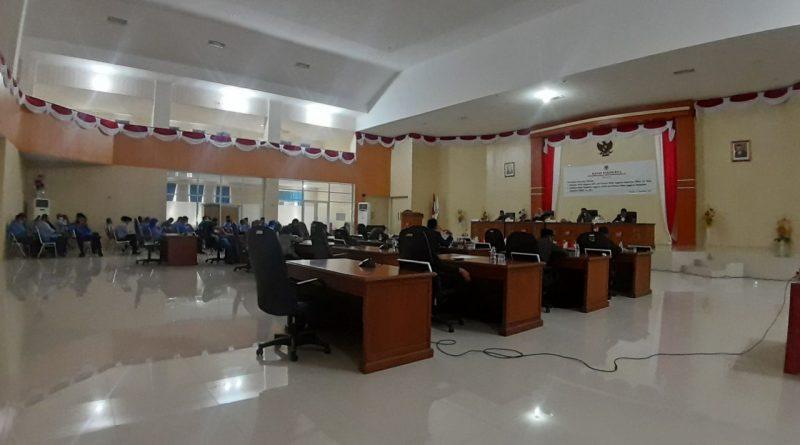 Pemda dan DPRD Setujui KUA-PPAS tahun 2022 dan KUPA-PPASP tahun 2021