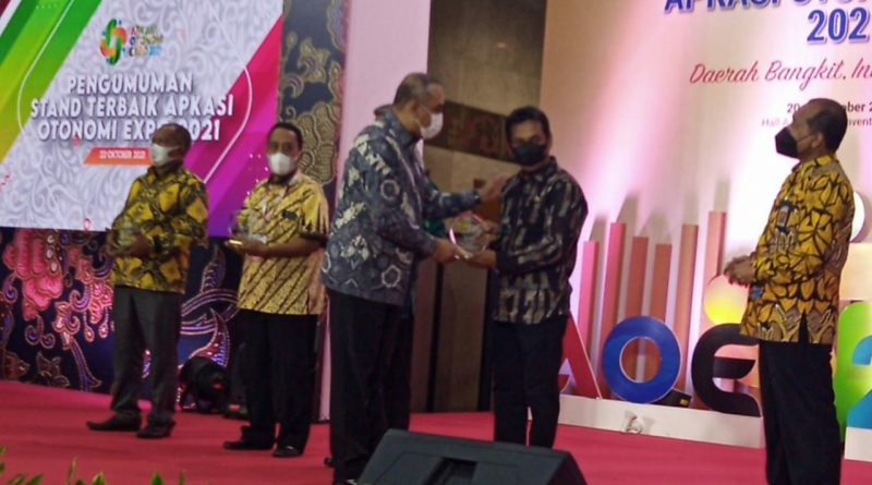 Bangga!! Banggai Laut Jadi Juara Satu Komoditi Unggulan Khusus di APKASI Expo 2021
